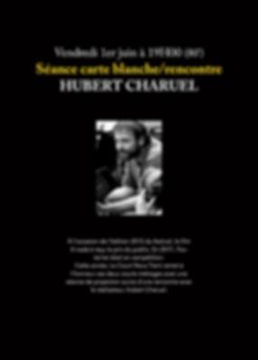 Carte blanche Hubert Charuel