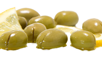 Cracked Oriental Olives - 560 grams