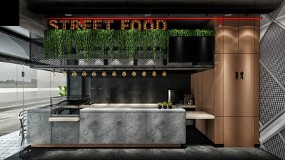 The One Restoran Projesi