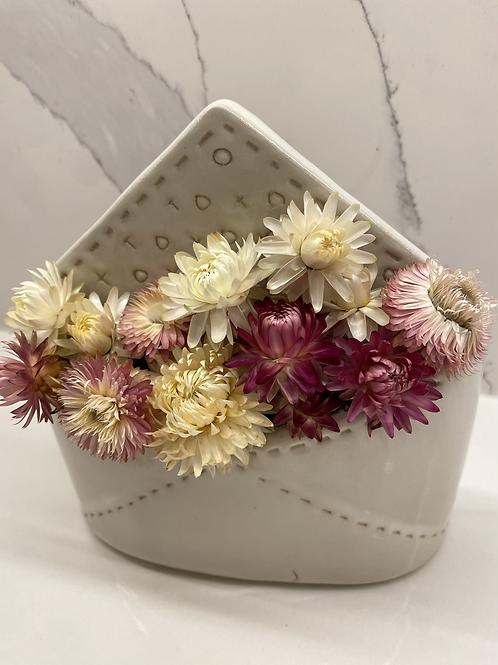 Straw flower love note