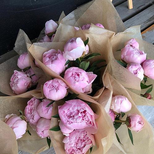 5-Stem Peony Bouquet (PLEASE READ DESCRIPTION)