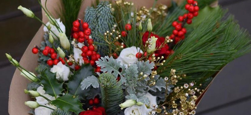 Holiday bouquet subscription