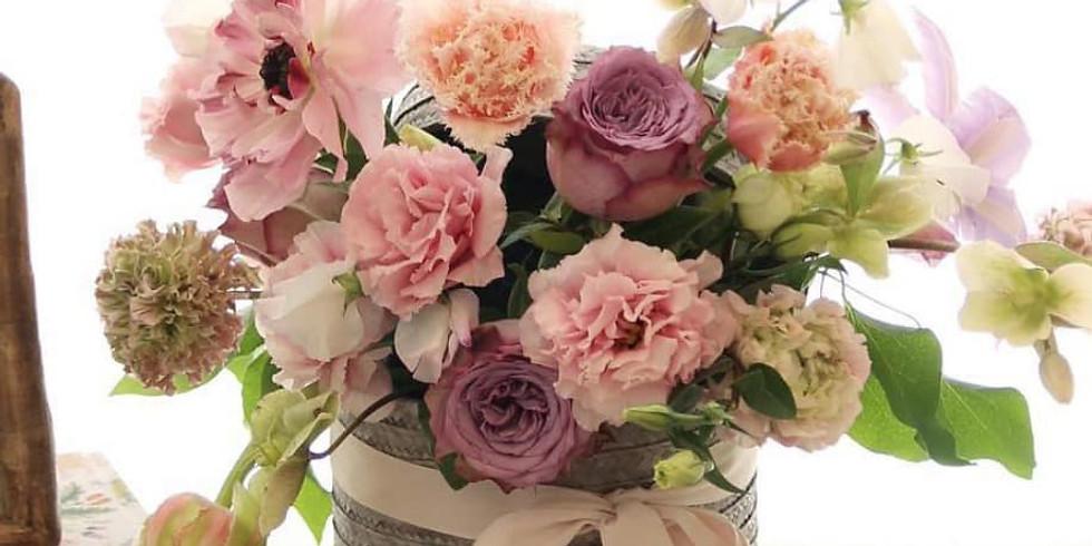 Floral Basket Arrangment