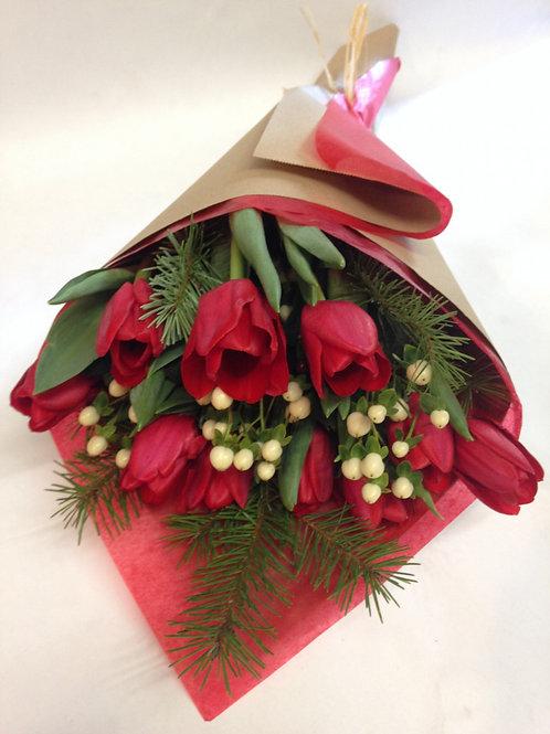 Holiday Tulips