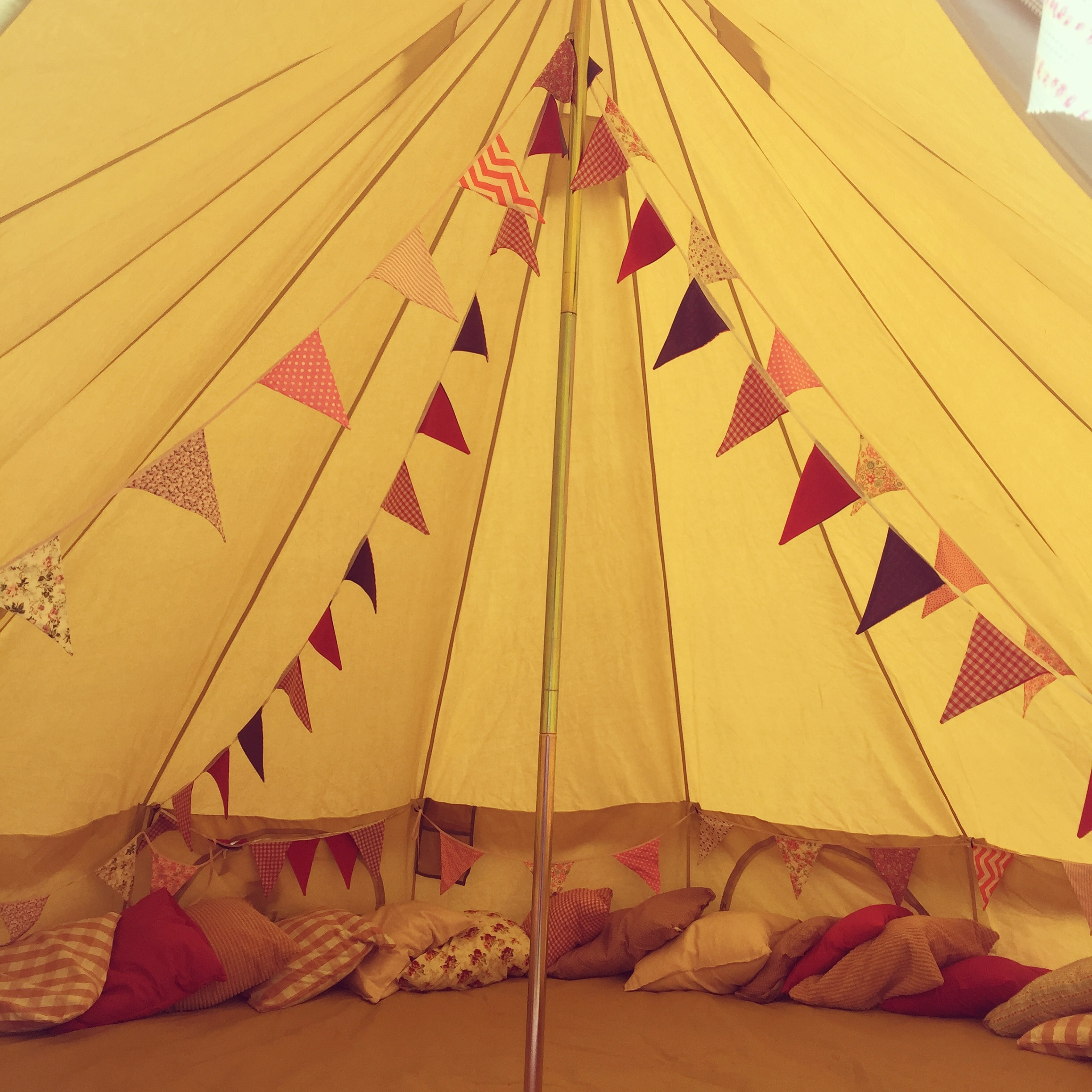 Bell Tent Party Events