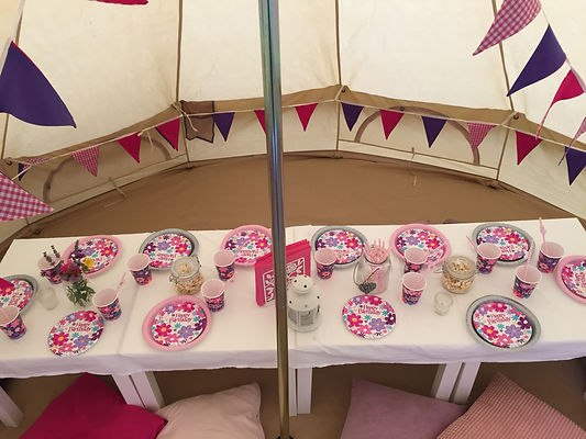 Bell Tent Party Events Cheshire