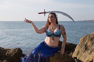 Sword Dancer, South Florida Belly Dance