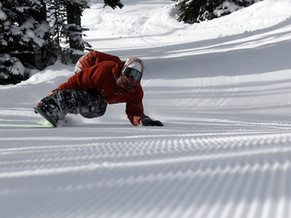 How To Carve On A Snowboard : 5 Steps