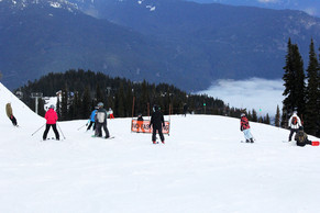How to snowboard on Flat & Narrow Long Runs(Cat Trucks) - Beginner Snowboarding Tips