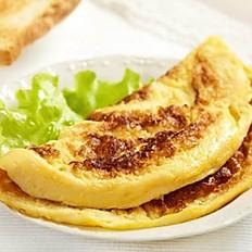Omelete simples muçarela (1 ovo)