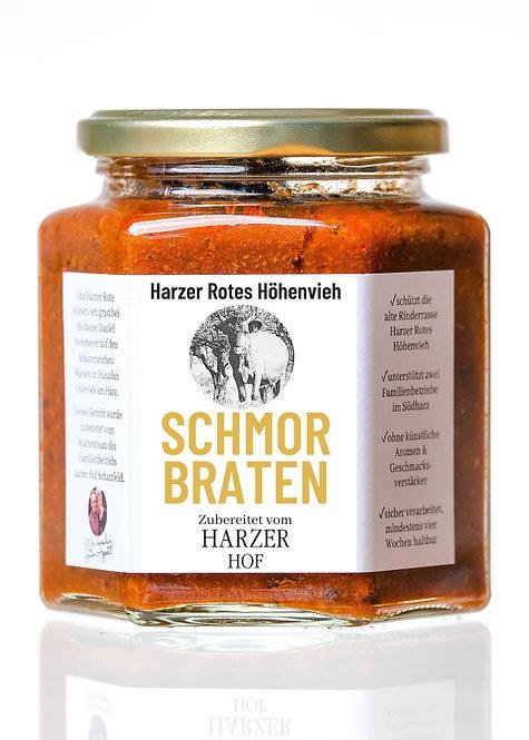 Schmorbraten vom Harzer Roten Höhenvieh im Glas