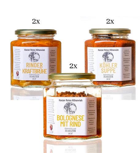 Suppen und Saucen Set Harzer Rotes Höhenvieh