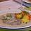 Rindfleisch in Meerrettich, Serviervorschlag mit Brühkartoffeln