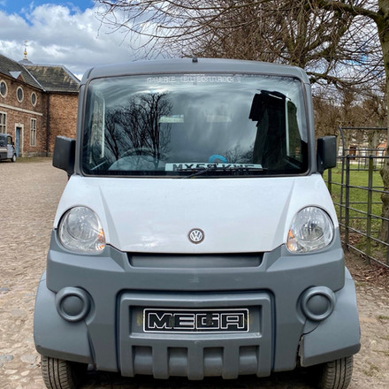 EV Van at Dunham Massey - Gill_Nowell - Twitter