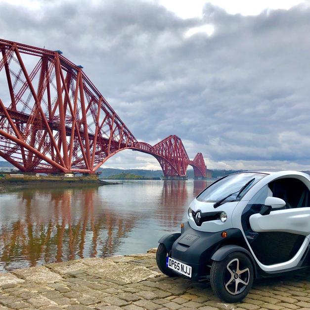 Forth Bridge Smart EV - By @doubledutch13 on Twitter