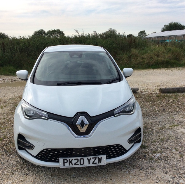 Renault ZOE - By @EvYorkshire Twitter