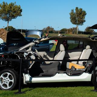 Inside a Nissan LEAF, in Christchurch NZ - By @rjdlandscapes on Twitter