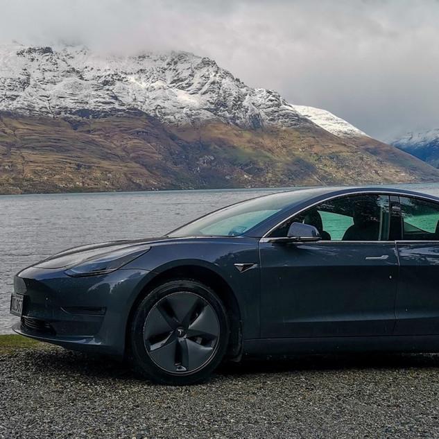Tesla Model 3 - By @rjdlandscapes Twitter