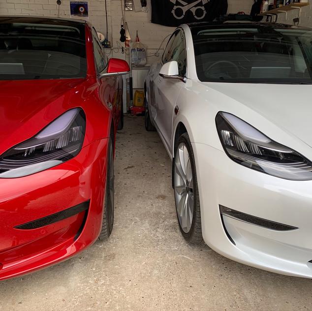 Two Teslas - By @ARU_tom on Twitter