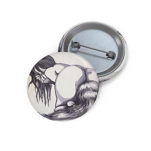 Foxy Custom Pin Buttons