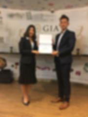 GIA Diamond Graduate