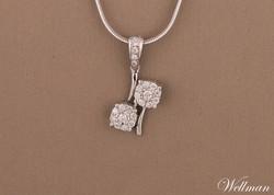 diamond pendant liontin berlian