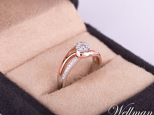 Couture Solitaire Ring #CSR002