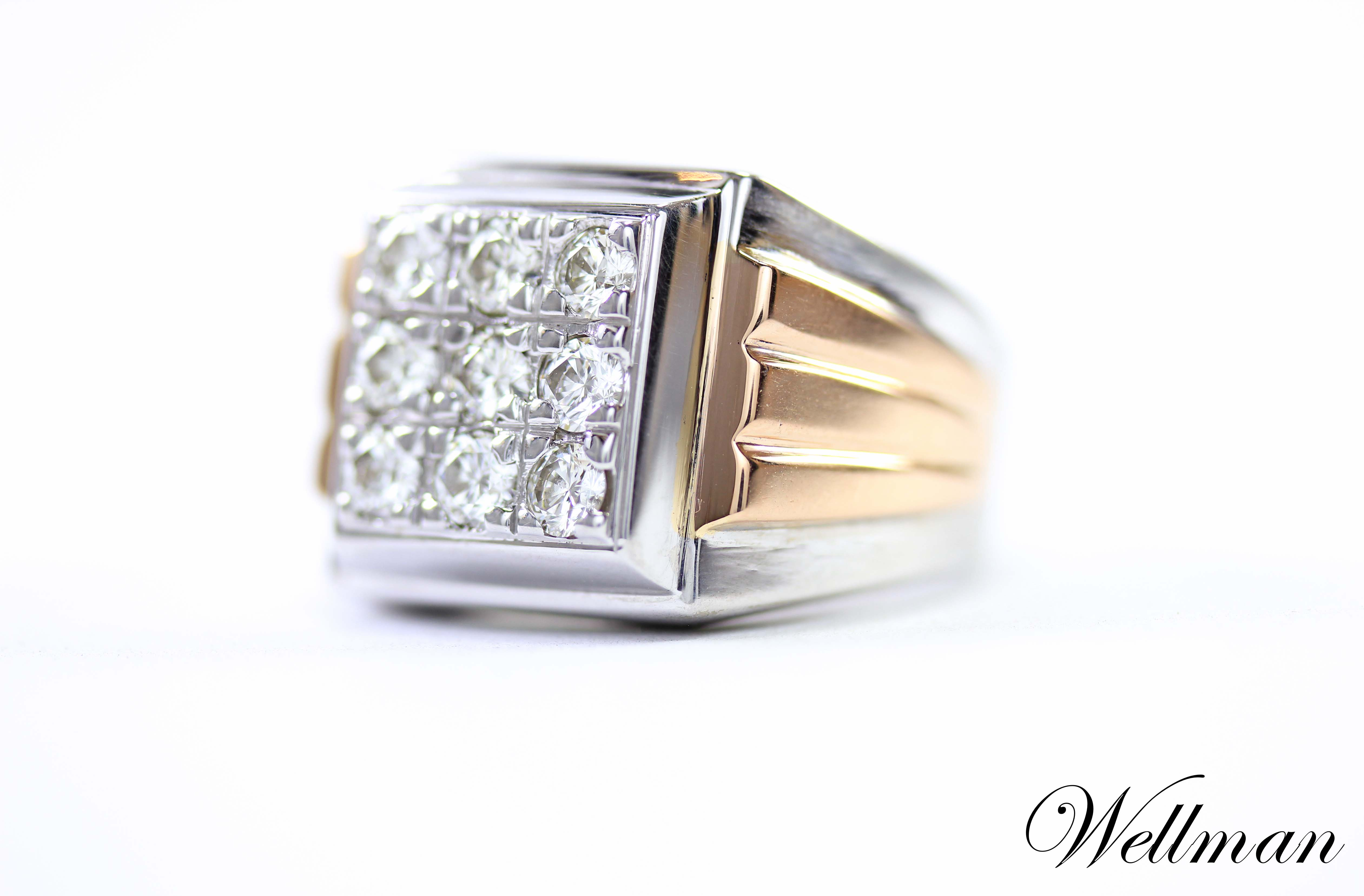 mens ring Wellman jewelry