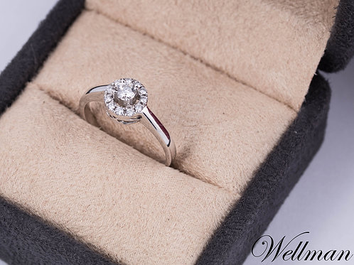 Couture Solitaire Ring #CSR003
