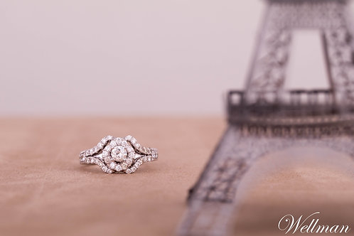 Couture Solitaire Ring #CSR008