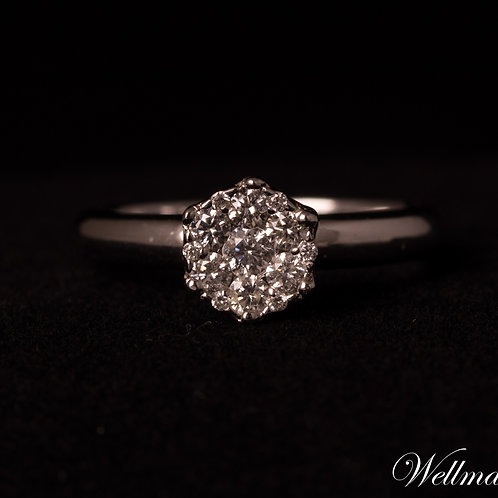 Couture Solitaire Ring #CSR007