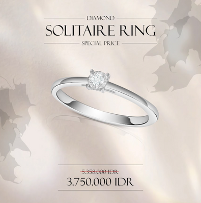 Solitaire Ring Promo