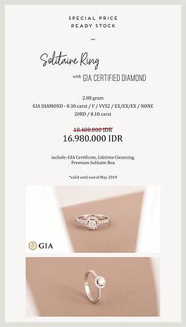 cincin berlian GIA