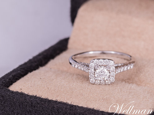Couture Solitaire Ring #CSR005