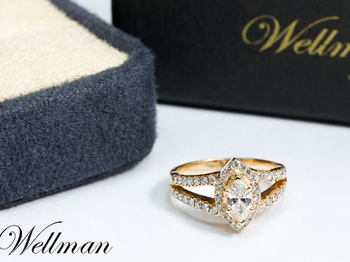 Couture Solitaire Ring #CSR010