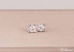 anting berlian diamond earrings