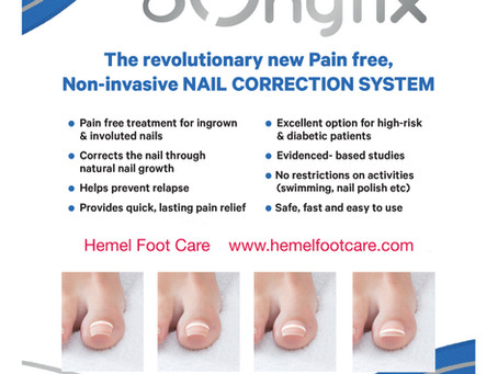 ONYFIX - COMING SOON!  THE NEW REVOLUTIONARY NAIL CORRECTION SYSTEM!