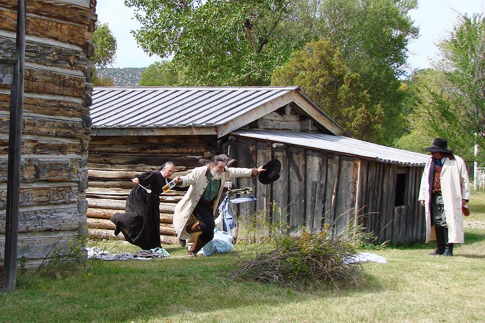 Nevada City Historic Re-enactment