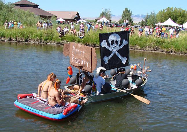 Fish Fantasies & Floating Flotillas