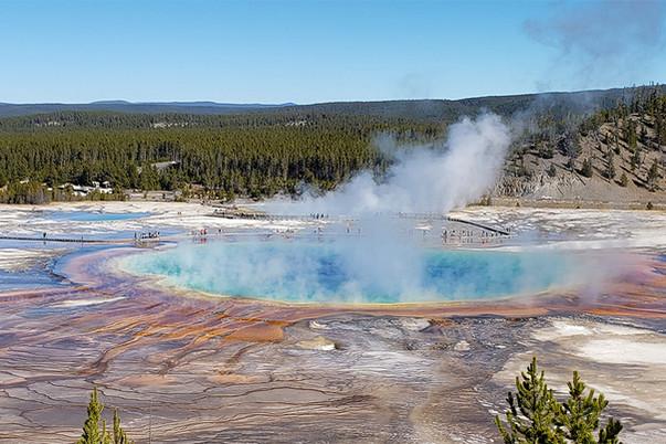 Yellowstone - The Grand Prismatic