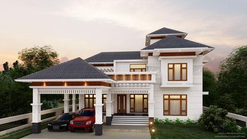 Residence at Amballur, Kerala