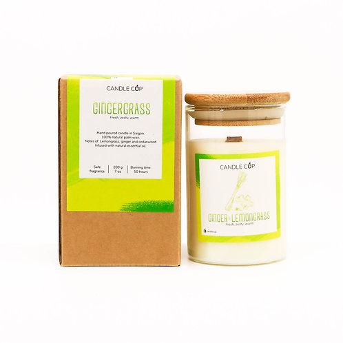 Nến Thơm Candle Cup - Mùi Ginger & Lemongrass