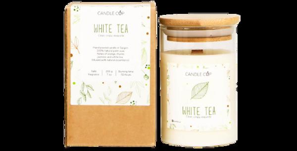 Nến Thơm Candle Cup - Mùi White Tea