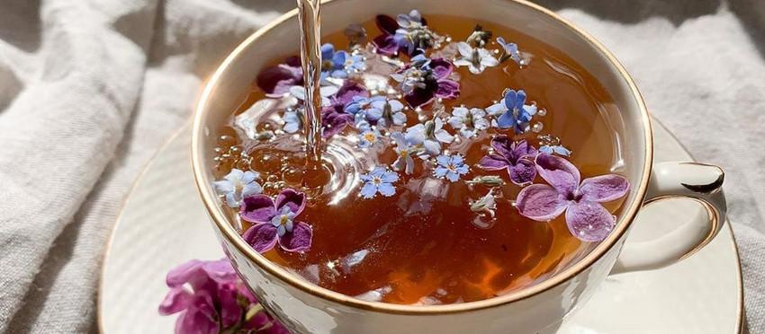 Tắm táp tâm hồn bằng trà thảo mộc.