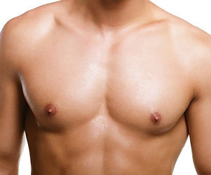 a man's chest, shirtless