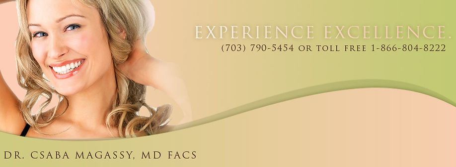Experience Excellence - Dr. Csaba Masaggy MD, FACS - 703-790-5454 - blonde woman smiling