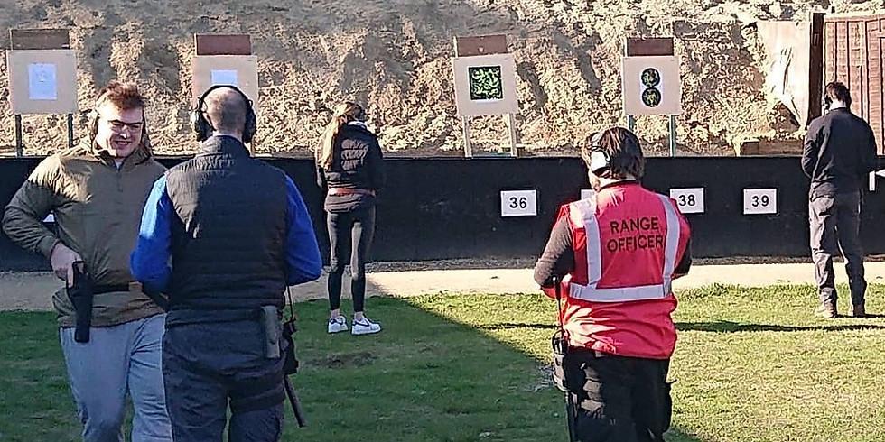 Winnans Bay A Smallbore (No Guests) Short Range Rifle, Pistol, Shotgun (Slug & No4 shot or smaller)