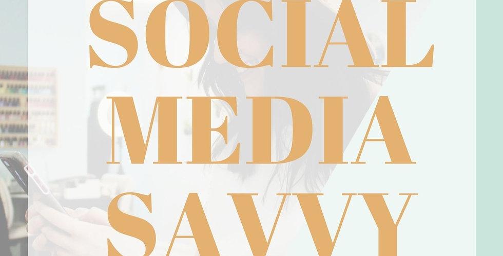 Social Media Savvy Planner