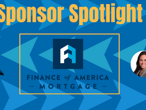 Sponsor Spotlight: Evangeline Scott of Finance of America Mortgage!
