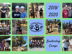 2019 Hands4Hope Leadership Camps